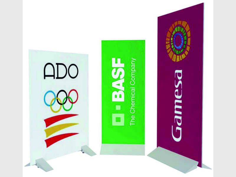 Display Publicitario Enrollables Banners